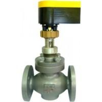 КР-1 клапан регулирующий с электроприводом