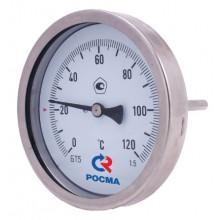 термометр биметаллический погружной